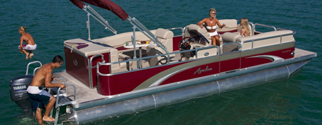 metro lakes marina pontoon rental