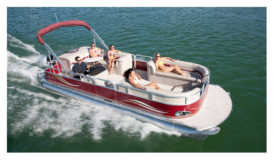 Metro Lakes pontoon rental